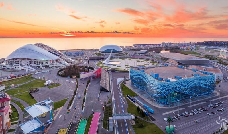 Олимпийский парк в сочи самые креативные фото
