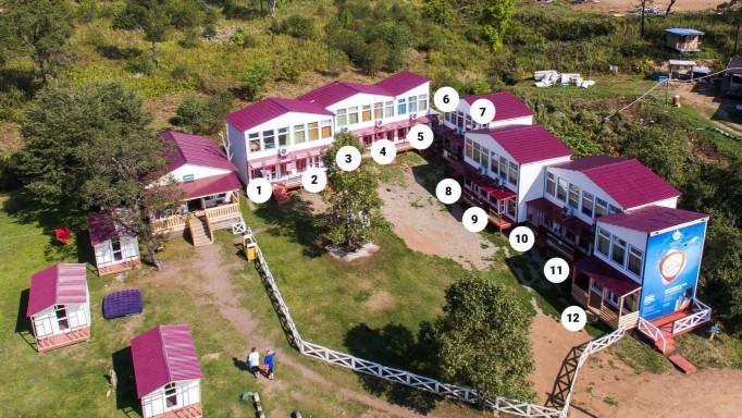 База отдыха «27 Регион - Ливадия» в Приморье |